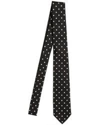Dolce & Gabbana 5cm Polkadot Silk Twill Tie - Lyst