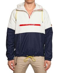 DSquared2 Cotton Canvas Nylon Padded Jacket - Lyst
