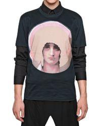 Givenchy Madonna Print Jersey Slim Fit Tshirt - Lyst