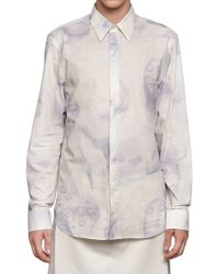 Givenchy Madonna and Child Cotton Canvas Shirt white - Lyst