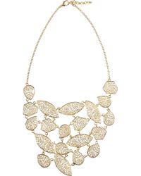 Isharya - 18karat Goldplated Filigree Necklace - Lyst