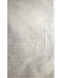 John Varvatos - Coal Dyed Crinkle Scarf - Lyst