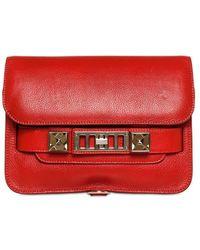 Proenza Schouler Ps11 Mini Classic Grained Leather Bag - Lyst