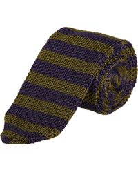 Rag & Bone Knit Bar Stripe Tie - Lyst