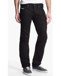 Diesel 'Safado' Slim Fit Jeans black - Lyst