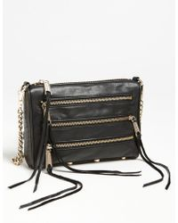 Rebecca Minkoff 'Mini 5 Zip' Convertible Crossbody Bag - Lyst