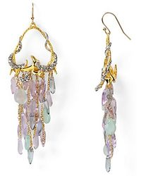 Alexis | Bittar Siyabona Gold Peruvian Chalcedony Cluster Earrings | Lyst