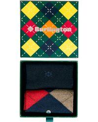 Smythson - Cube 2 Pack Gift Socks - Lyst