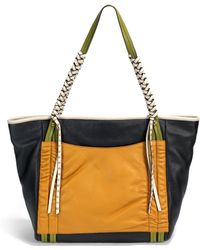 orYANY | Colorblocked Leather Tote | Lyst