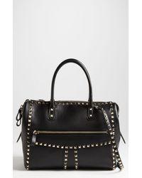 Valentino Rockstud Small Leather Handbag - Lyst