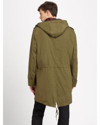 Burberry Brit Hooded Stadium Coat - Lyst