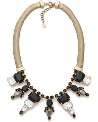 Club Monaco Statement Necklace - Lyst