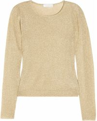 Richard Nicoll - Metallic-knit Sweater - Lyst