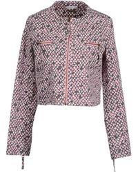See By Chloé Jacket pink - Lyst