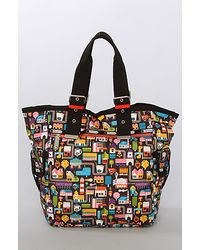 LeSportsac The Triple Trouble Tote Bag in Urban Fruits - Lyst