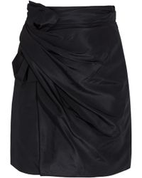 3.1 Phillip Lim Asymmetric Bow Skirt - Lyst
