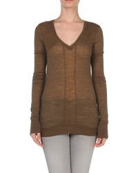 See By Chloé Long Sleeve Jumper - Lyst