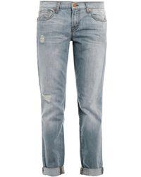 J Brand - Aiden Midrise Boyfriend Jeans - Lyst