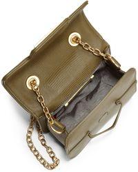 Z Spoke by Zac Posen Americana Lizardprint Leather Crossbody Bag - Lyst
