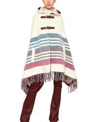 Emilio Pucci - Wool Blanket Poncho - Lyst