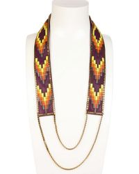 Fiona Paxton - Nora Long Beaded Necklace - Lyst