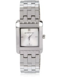 Givenchy - Polished Stainless Steel Watch - Lyst