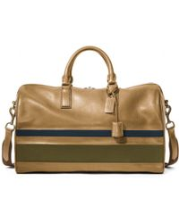 Coach Bleecker Debossed Stripe Duffle - Lyst