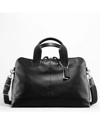 Coach Thompson Leather Small Duffle - Lyst