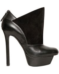 Diego Dolcini - Leather and Suede Low Boots - Lyst
