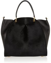 Maiyet Large Peyton Calf Hair and Leather Shopper - Lyst