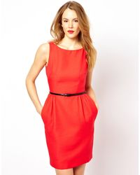 Coast Orange Clarkson Dress - Lyst