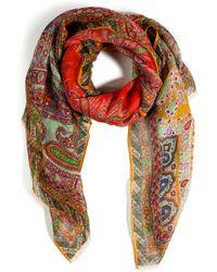 Etro - Floral Print Turban - Lyst