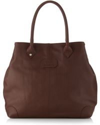 Gianfranco Ferré - Medium Lined Leather Tote Bag - Lyst