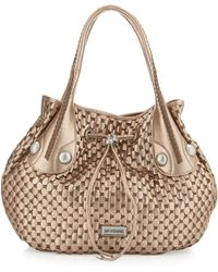 Gianfranco Ferré - Fishtail Braidhandle Woven Hobo Bag - Lyst