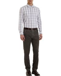 Massimo Alba Graph Check Shirt - Lyst