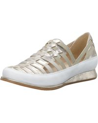 Stuart Weitzman Strappy Elastic Sneaker - Lyst