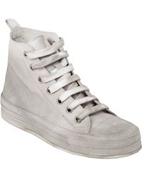 Ann Demeulemeester Blanche - Distressed Trainer - Lyst