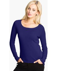 Christopher Fischer Rib Back Cashmere Sweater - Lyst