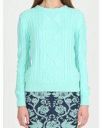 Torn By Ronny Kobo Kati Sweater Cable Knit - Lyst