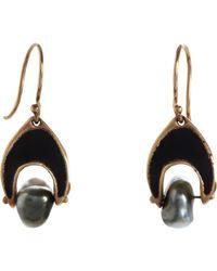 Ten Thousand Things Keshi Pearl Arabesque Earrings