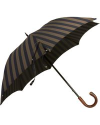 Barneys New York Double Stripe Umbrella - Lyst