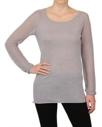 Donna Karan New York Cashmere Long Sleeved Top - Lyst
