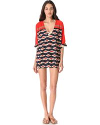 Marc By Marc Jacobs Hayley Stripe Cover Up - Lyst
