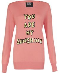 Markus Lupfer You Are My Sunshine Jumper - Lyst
