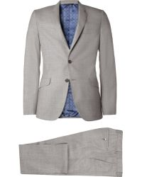 Paul Smith Grey Kensington Slimfit Wool Suit - Lyst