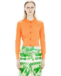 Acne Fran Holes Postit Orange - Lyst
