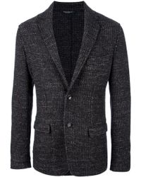 Dolce & Gabbana Button Up Blazer - Lyst