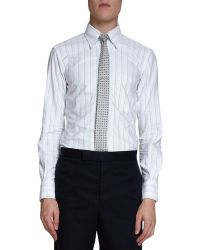 Thom Browne Oxford Stripe Dress Shirt - Lyst