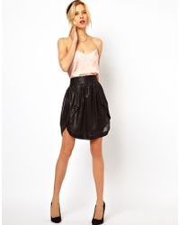 ASOS Collection Asos Skirt with High Low Hem - Lyst
