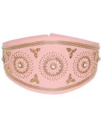 Manish Arora - 140mm Indian Embroidery Leather Belt - Lyst